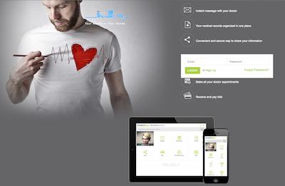 iHealth Patient Portal Best Designed